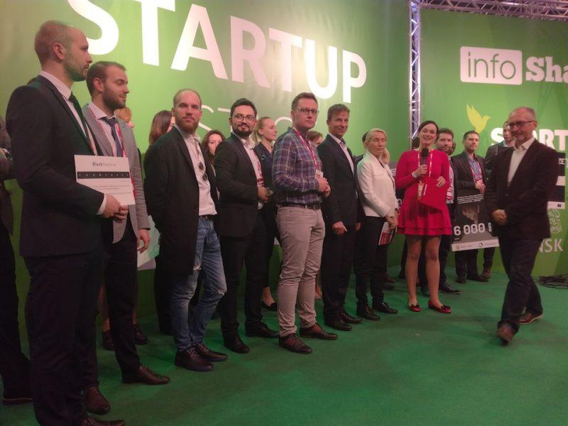 infoShare Startup Contestl; Marcin Zagorski